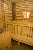 Locale di riposo di sauna Fotografia Stock