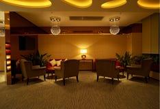 Locale di riposo di VIP interno Fotografia Stock