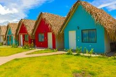 Località di soggiorno all'oceano Pacifico nel Panama Immagini Stock