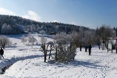 Località di soggiorno Altenberg, Sassonia, Germania Fotografia Stock