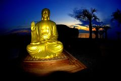 località di soggiorno di Buddha Immagine Stock Libera da Diritti