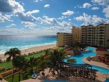 Località di soggiorno caraibica reale, Cancun Fotografia Stock Libera da Diritti