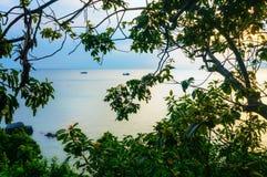 Località di soggiorno costiera in Tailandia fotografie stock
