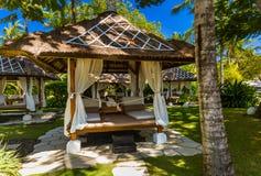 Località di soggiorno del DUA di Nusa in Bali Indonesia Immagine Stock