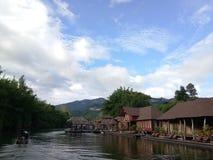 Località di soggiorno del fiume Immagini Stock Libere da Diritti