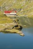 Località di soggiorno del lago Balea Fotografie Stock Libere da Diritti