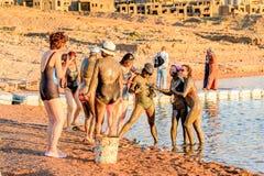 Località di soggiorno del mar Morto, Giordania Immagine Stock