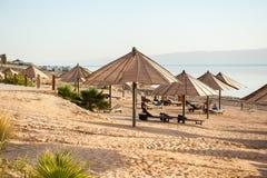 Località di soggiorno del mar Morto, Giordania Fotografia Stock Libera da Diritti
