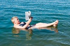 Località di soggiorno del mar Morto, Giordania Immagini Stock Libere da Diritti