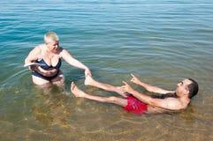 Località di soggiorno del mar Morto, Giordania Fotografie Stock Libere da Diritti