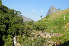 Località di soggiorno del parco nazionale di Tres Picos Fotografia Stock