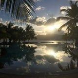 Località di soggiorno del ` s di St Anne e stazione termale, Seychelles Fotografia Stock Libera da Diritti