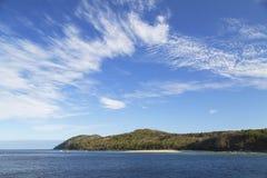 Località di soggiorno della baia di paradiso, isola di Naukacuvu, isole di Yasawa, Figi Immagini Stock