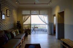 Località di soggiorno di alloggio presso famiglie del blocchetto di appartamenti Fotografie Stock Libere da Diritti