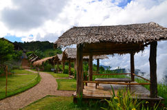 Località di soggiorno di campeggio di lunedì Cham, Chiangmai, Tailandia Immagine Stock Libera da Diritti