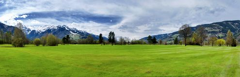 Località di soggiorno di golf Immagine Stock