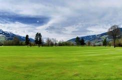 Località di soggiorno di golf Fotografia Stock