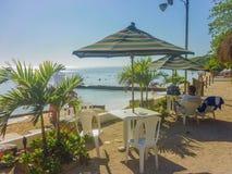 Località di soggiorno di isola tropicale a Cartagine Fotografie Stock Libere da Diritti