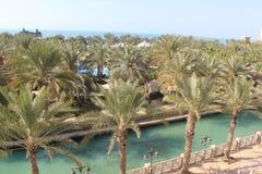 Località di soggiorno di Madinat Jumeirah Fotografia Stock