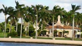 Località di soggiorno di marzo-Un-Lago, Palm Beach, Florida Immagini Stock Libere da Diritti