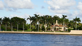 Località di soggiorno di marzo-Un-Lago, Palm Beach, Florida Fotografia Stock Libera da Diritti