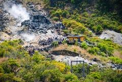Località di soggiorno di montagna a Hakone, Giappone Immagine Stock Libera da Diritti