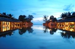 Località di soggiorno di vacanza in Tailandia Fotografia Stock