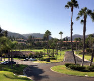 Località di soggiorno e ville di golf di California Immagine Stock Libera da Diritti