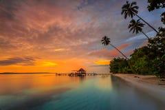 Località di soggiorno di Eco della spiaggia di Ora Immagini Stock Libere da Diritti