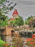 Località di soggiorno Florida della riva del fiume di Orleans del porto Immagine Stock Libera da Diritti
