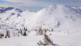 Località di soggiorno di inverno di Feuerkogel, Ebensee, Salzkammergut, Austria