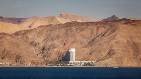 Località di soggiorno israeliana sul Mar Rosso Immagine Stock