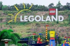 Località di soggiorno di Legoland, parco e parco dell'acqua, Johor Bahru, Malesia, ottobre fotografia stock