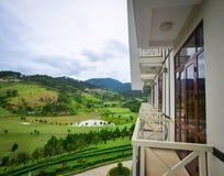 Località di soggiorno di montagna di lusso all'inverno in Dalat, Vietnam Immagini Stock