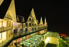 Località di soggiorno di montagna di lusso in Dalat, Vietnam Immagini Stock Libere da Diritti