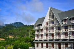 Località di soggiorno di montagna di lusso in Dalat, Vietnam Fotografie Stock
