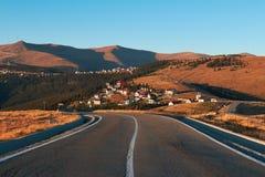 Località di soggiorno di montagna di Ranca in Parang Carpathians fotografia stock libera da diritti