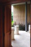 Località di soggiorno naturale di interior design della toilette fotografia stock