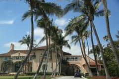 Località di soggiorno in Palm Beach, Florida di marzo-un-Lago Immagini Stock Libere da Diritti