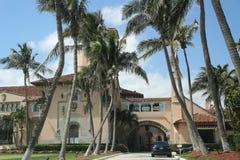 Località di soggiorno in Palm Beach, Florida di marzo-un-Lago Fotografie Stock