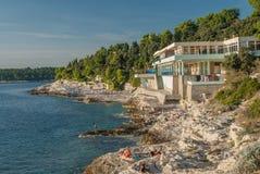 Località di soggiorno di Pola, Croazia Fotografia Stock
