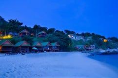 Località di soggiorno sull'isola in Tailandia Immagini Stock Libere da Diritti