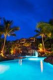 Località di soggiorno tropicale Immagine Stock Libera da Diritti