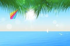 Località di soggiorno tropicale di estate Fotografie Stock Libere da Diritti