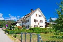Località di soggiorno Velden Worthersee l'austria Fotografia Stock