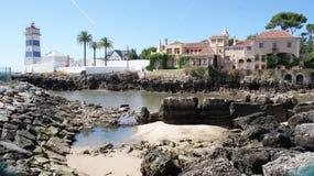 Località di soggiorno vicino a Lisbona Sintra e a Cascais immagine stock