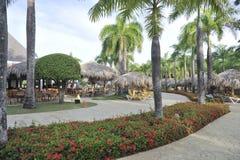 Località di soggiorno tropicale Fotografie Stock Libere da Diritti