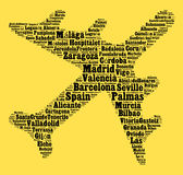 Localities in Spain Stock Photo