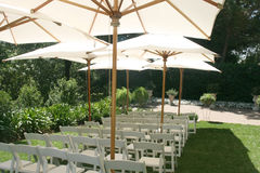 Localización de la boda fotografía de archivo libre de regalías