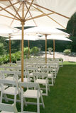 Localización de la boda fotos de archivo libres de regalías